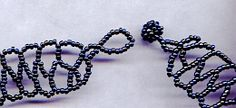 How to make a beaded clasp.