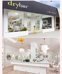 The Dry Bar, their amazing branding doesn't stop at the logo or the website, it's perfectly carried through into the stunning design in their location interiors as well.