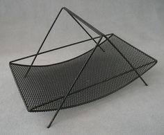 #C28 Fruit Basket designed by Richard Galef for Ravenware. Produced 1952 - 1955.