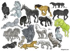 horse sketches how to draw horses 4 Dog arts jessica magnus rockeman pencil ink marker copic prismacolor colored pencil mare colt stallion drawing step by step tutorials free royalty free
