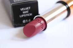"""Kiko Velvet Mat Lipstick #614 """"Dark Berry"""""""