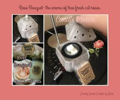 """This is giving """"wake up & smell the roses"""" a whole new meaning. ♥️ Our candle breeze wax warmer has a quiet fan inside that circulates a fragrant breeze into the air to fill room! This is perfect for bigger spaces. Just keep this on all night & when you wake up, it is an amazing aroma of fresh cut roses. *Pictured is the Chateau Candle Breeze Wax Warmer Quiet Fan, Country Scents Candles, Aroma Beads, Wax Warmer, Soy Candles, Breeze, Fill, Essential Oils, Roses"""