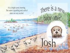 JOSH THE BABY OTTER BOOK VIDEO - YouTube Teaches kids water safety - learn to float!