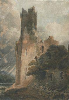 John Sell Cotman (1782-1842), A Castle Tower n.d.