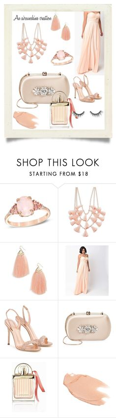 """""""Untitled #1695"""" by airsunshine ❤ liked on Polyvore featuring Design Lab, Panacea, Giuseppe Zanotti, Badgley Mischka, Chloé, Too Faced Cosmetics and tarte"""