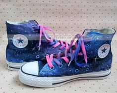 custom #galaxy shoes hand painted galaxy shoes