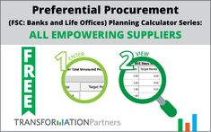 Preferential Procurement Planning Calculator Series (Construction Sector Code: Contractors): At least Black Owned Designated Group Suppliers – Transformation Talk Construction Sector, Planning, Calculator, Tourism, Software, At Least, Bee, Coding, Design
