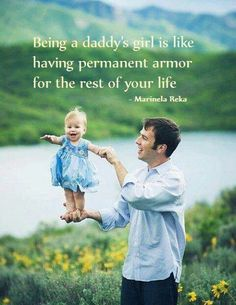 SO VERY VERY TRUE!!!!!!!!.....SO VERY PROUD, & LOVE MY DADDY FOREVER & ALWAYS!!!!!!!!.......MY DADDY.....MY GREAT PROTECTOR!!!!!!.........FOREVER YOUR LITTLE GIRL!!!!!!!!!! ;))