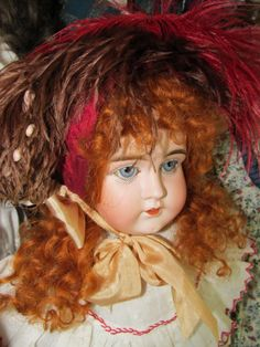 My Kestner open closed mouth shoulderhead doll.
