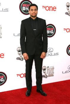 Actor Michael Ealy made sure to dress for the occasion, donning a sharp suit at the NAACP Image Awards on Feb. 22, 2014.
