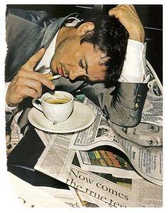 the ever talented / edgy, Robert Downey Jr. Robert Downey Jr, People Drinking Coffee, Drinking Tea, Tony Stark, Downey Junior, Brad Pitt, Best Actor, Coffee Drinks, Movie Stars