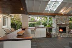 tubular-skylights-Patio-Contemporary-with-barstools-dark-wood ...