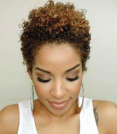 27627b456fb Best 25+ Short natural curls ideas Pixie Natural Hair