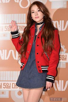 "DARA of 2NE1 at Korean movie ""C'est si bon"" VIP premier"