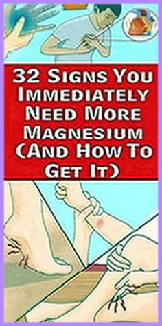 32 Signs You Immediately Need More Magnesium (And How To Get It) – Herbal Medicine Book Holistic Remedies, Holistic Healing, Natural Healing, Health Remedies, Natural Remedies, Health Guru, Gut Health, Health And Wellbeing, Health And Nutrition
