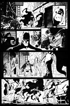 Batman vs Penguin page #1