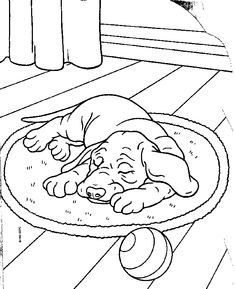 76 Best Dog Pages To Color Images Coloring Book Coloring Pages