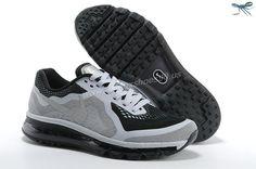 Black Grey Mens Nike Air Max 2014