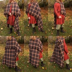 Viking age rectangular woolen cloak. Made by Henrik Nordholm.  https://www.facebook.com/pages/Henrik-Nordholm/254634504677319