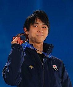 "Golden Smile! : Gold Medalist: ""Yuzuru Hanyu"" #Japan, #FigureSkating #Sochi2014 Winter #Olympics #TeamJapan #YuzuruHanyu #羽生結弦 #日本"