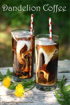 Make Your Own DandelionRoot Detox Tea and Coffee