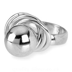 Tianguis Jackson Silver Bauble in Loop Ring