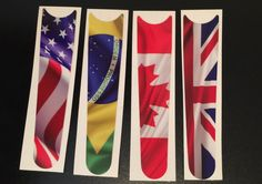 """Walking around World Showcase? Get these flag bands in our Cover Bands store at DVCCentral.com and show your love! In the """"Fashion"""" category! Cover Bands are waterproof, removable decals for your Magicbands!"""