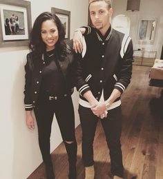 Pin for Later: Steph and Ayesha Curry Are Already the Best Couple of 2016 — Here's 17 Reasons Seriously, the coordinating outfits are too good. Source by TanajhiaCabral Outfits for couples Ayesha Curry, Matching Couple Outfits, Matching Couples, Cute Couples, Power Couples, Swag Couples, Couple Style, Tan Suede Chelsea Boots, Couple Goals Cuddling