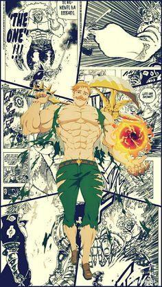 Otaku Anime, Manga Anime, Escanor Seven Deadly Sins, Dragon Ball, Naruto Minato, Skull Wallpaper, Manga Pages, Animes Wallpapers, Anime Characters