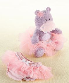 Take a look at this Pink Lady Lulu Plush Toy & Tutu Diaper Cover today!
