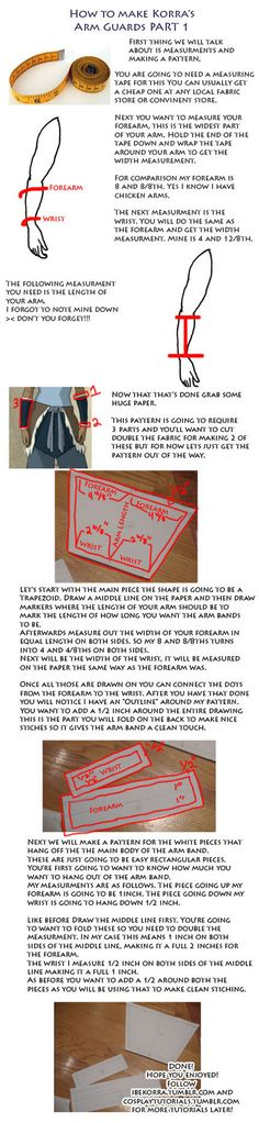 Korra Arm Band Part 1 Tutorial by Naiagu.deviantart.com on @DeviantArt