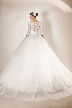 Wedding dress by Lebanese designer Georges Hobeika