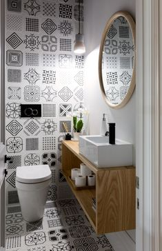 Small Downstairs Toilet, Small Toilet Room, Small Bathroom, Unit Bathroom, Tiny Bathrooms, Bathroom Layout, Modern Bathroom Design, Bathroom Interior Design, Toilet Room Decor