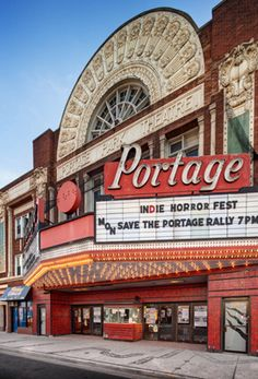 Portage theater - Preservation Chicago