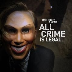 The Purge, fantastic suspense thriller that makes you think after the movie. My view of it, more of a sociological viewpoint on legal anarchy.