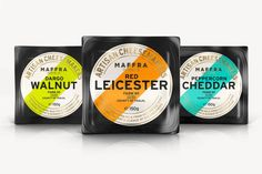 Maffra Cheese Company Produces Well-Packaged Gourmet Cheese #cheese trendhunter.com