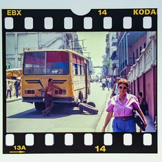 #cuba #karibik #caribbean #santiagodecuba #bus #diapositiv #perforation #kodak Cuba, Caribbean, Memories, Souvenirs, Remember This, Kobe