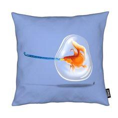 Popper (Colour) - Rob Snow | Creative - Cushion gift | female | dog | ideas | inspiration