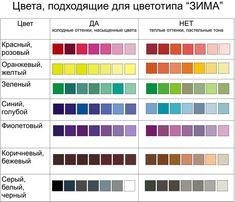 базовый гардероб для цветотипа зима - Поиск в Google