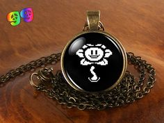 Undertale Flowey (1) Gaming Necklace Chain & Pendant Charm Jewelry