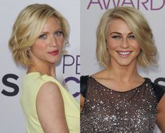 Brittany Snow and Julianne Hough