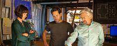 Nouvelles photos pour #AntMan avec Paul Rudd, Michael Douglas et Evangeline Lilly