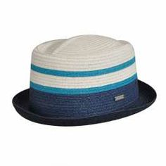 4ea0a3b8db6 Stripe Braid Pork Pie. Spring HatsSummer HatsPork Pie HatStraw  FedoraStylish HatsMen ...