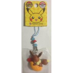Pokemon Center Nagoya 2012 Eevee Ebi Fry Mobile Phone Strap