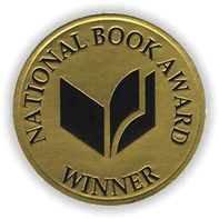 Check out our National Book Awards board at https://www.pinterest.com/bookshare/national-book-awards/ for the latest finalists and winners available on Bookshare. Members can download from our special collection of titles awarded the National Book Award at https://www.bookshare.org/browse/collection/27/. Image: National Book Award Winner gold-colored seal with graphic of an open book.