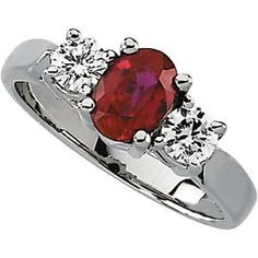 ruby and diamond ring..although not MY birthstone..it is my sons..I would LOVE a ruby/diamond ring.
