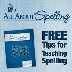 Free Tips for Teaching Spelling with All About Spelling