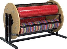 wrapping paper holder and cutter | Bulman Products suzy rack Gift Wrap and Ribbon Dispensers