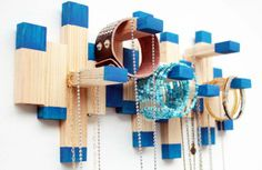 BeÚtil | Dale Nueva Vida a tu Juego de Jenga Convirtiéndolo en un Organizador Para Collares y Pulseras