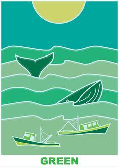 Green - sea (RGB series)